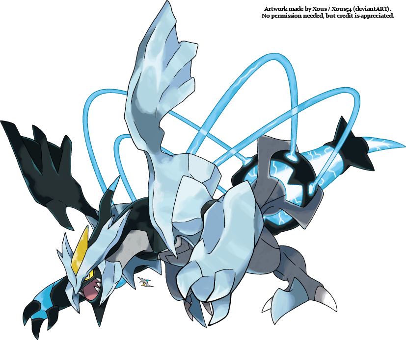 Black kyurem v 2 by xous54 on deviantart - Pokemon kyurem noir ...