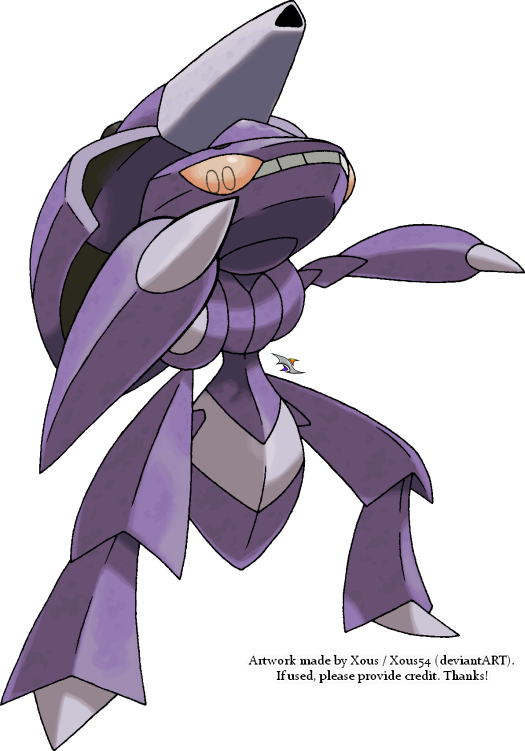 Genesect v.6 by Xous54