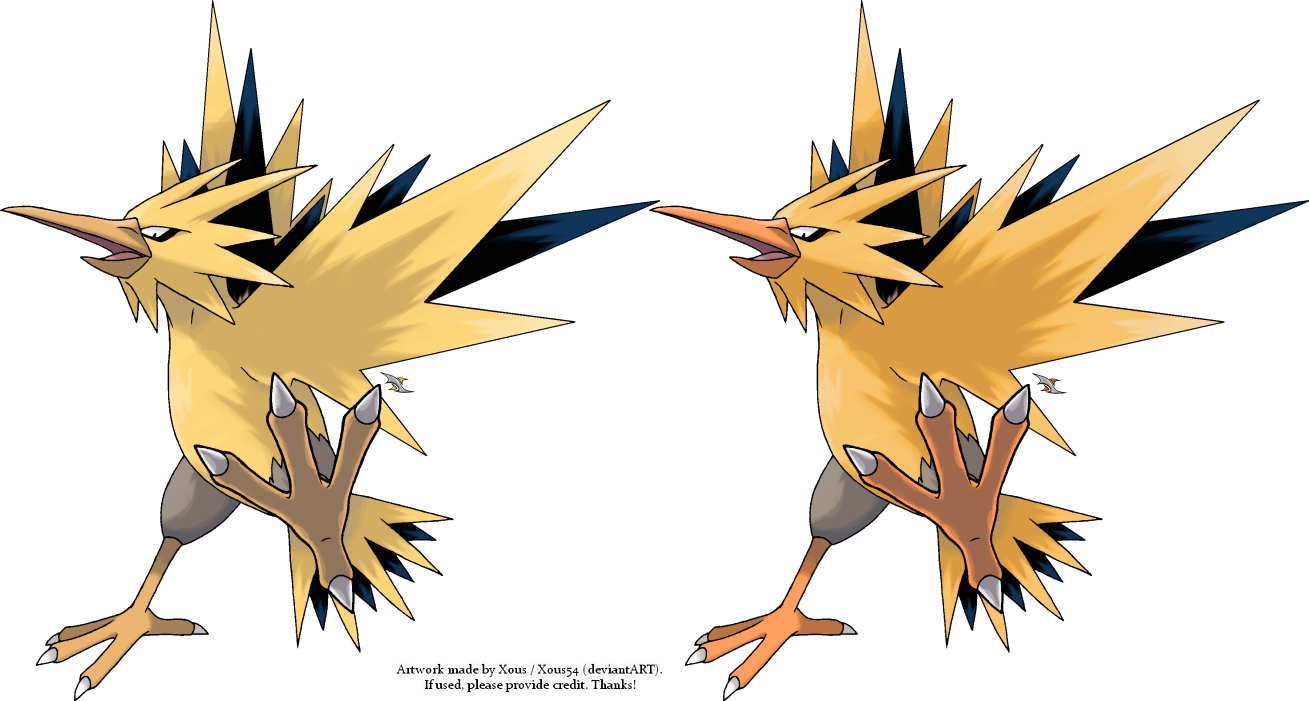 Zapdos v.2 by Xous54
