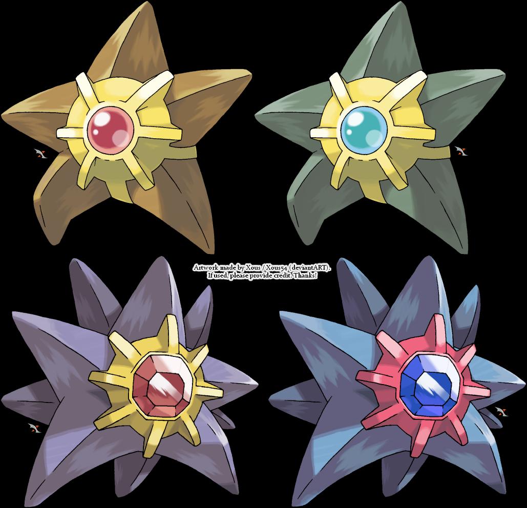 Pokemon Staryu Related...