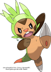 Chespin by Xous54