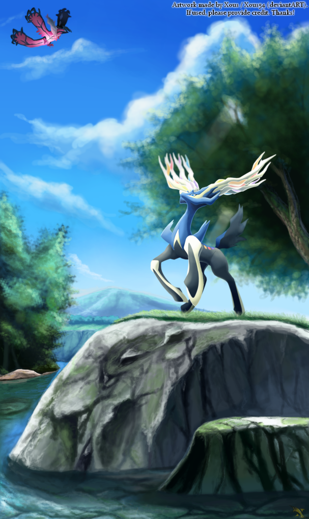 Pokemon X and Y by Xous54