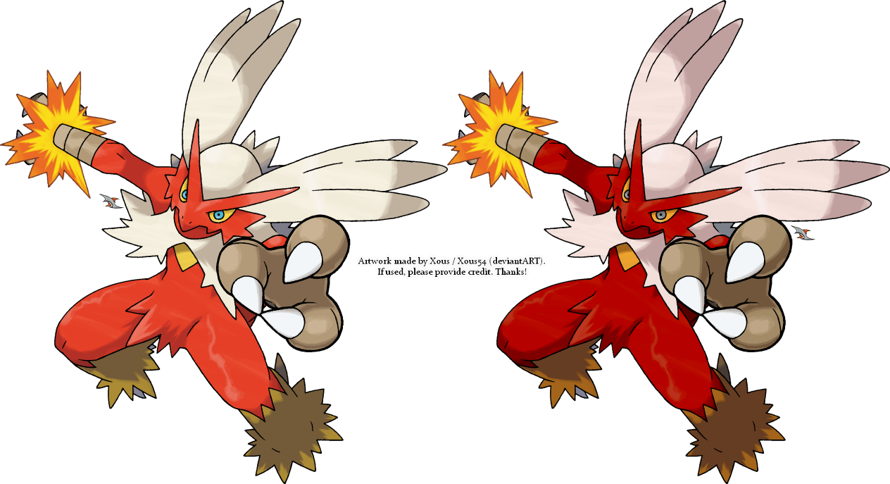 Blaziken v.2 by Xous54 on DeviantArt