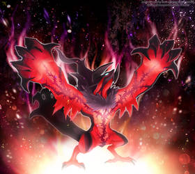 Legendary Yveltal by Xous54