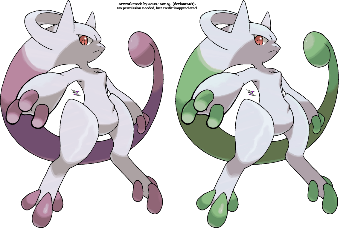 Mega mewtwo y by xous54 on deviantart - Mewtwo y mega evolution ...