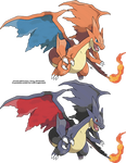 Mega Charizard Y by Xous54