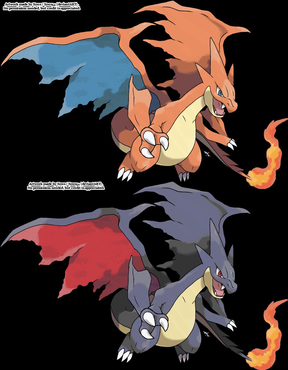 Mega Charizard X+Y by tiikay on DeviantArt |Pokemon X And Y Mega Evolutions Charizard