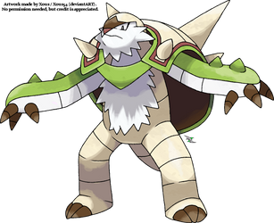 Chesnaught by Xous54