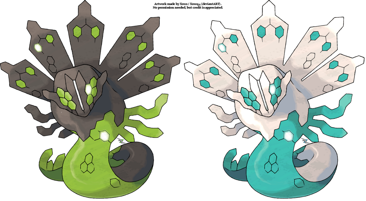 Zygarde by Xous54
