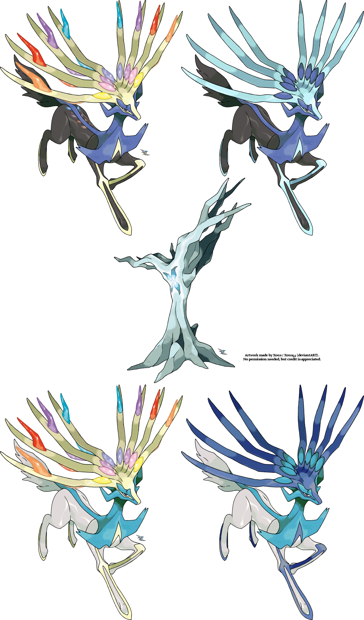 Xerneas v.3 by Xous54