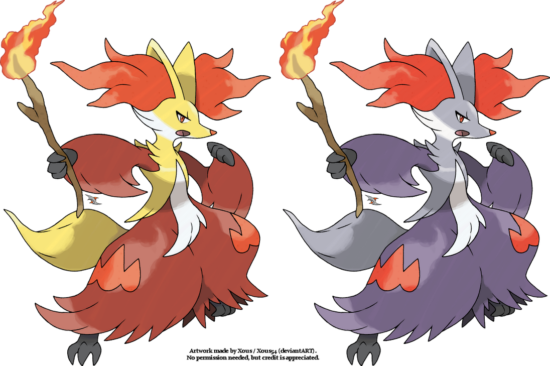 Delphox v.2 by Xous54