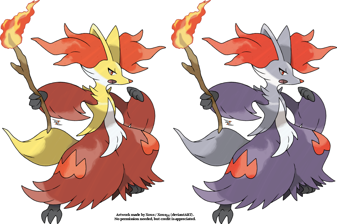 Delphox v.2 by Xous54 on DeviantArt