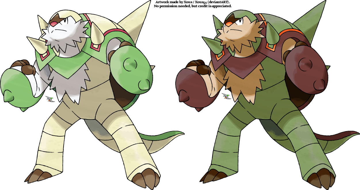 Pokemon x and y shiny chesnaught