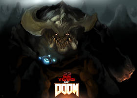 Doom - 22nd Anniversary by Xous54