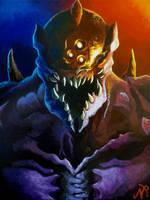 DOOM Prowler Painting
