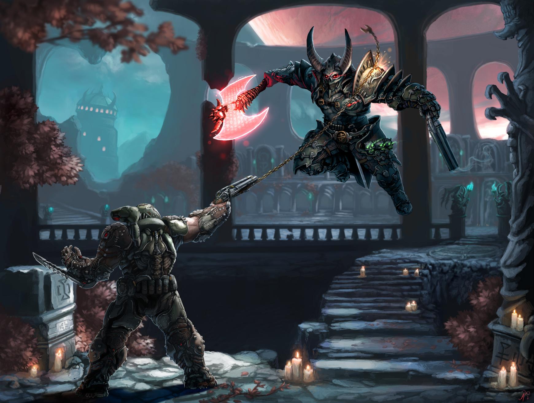 Slayer Vs Marauder By Xous54 On Deviantart