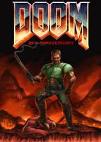 DOOM 25th Anniversary by Xous54