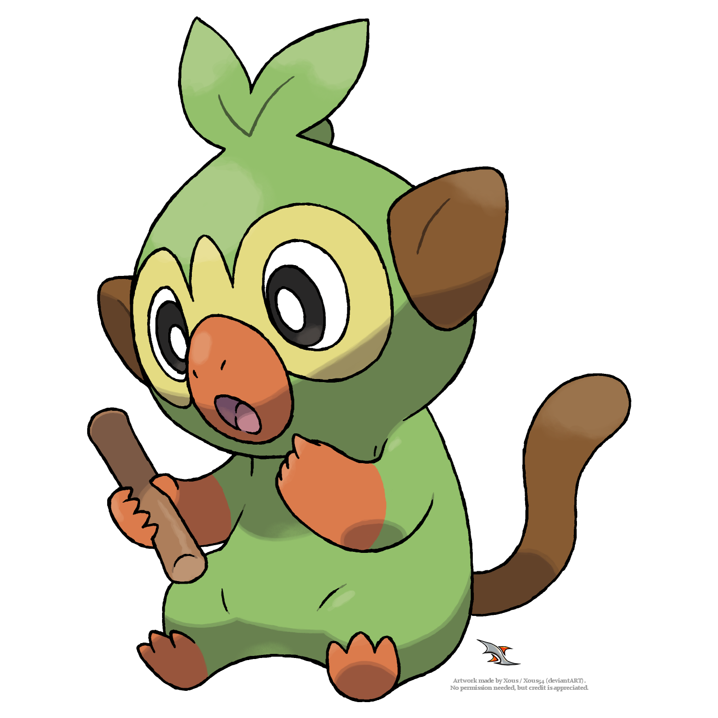 Grookey By Xous54 On Deviantart Press the ← and → keys to navigate the gallery, 'g' to view the gallery, or 'r' to view a random image. grookey by xous54 on deviantart