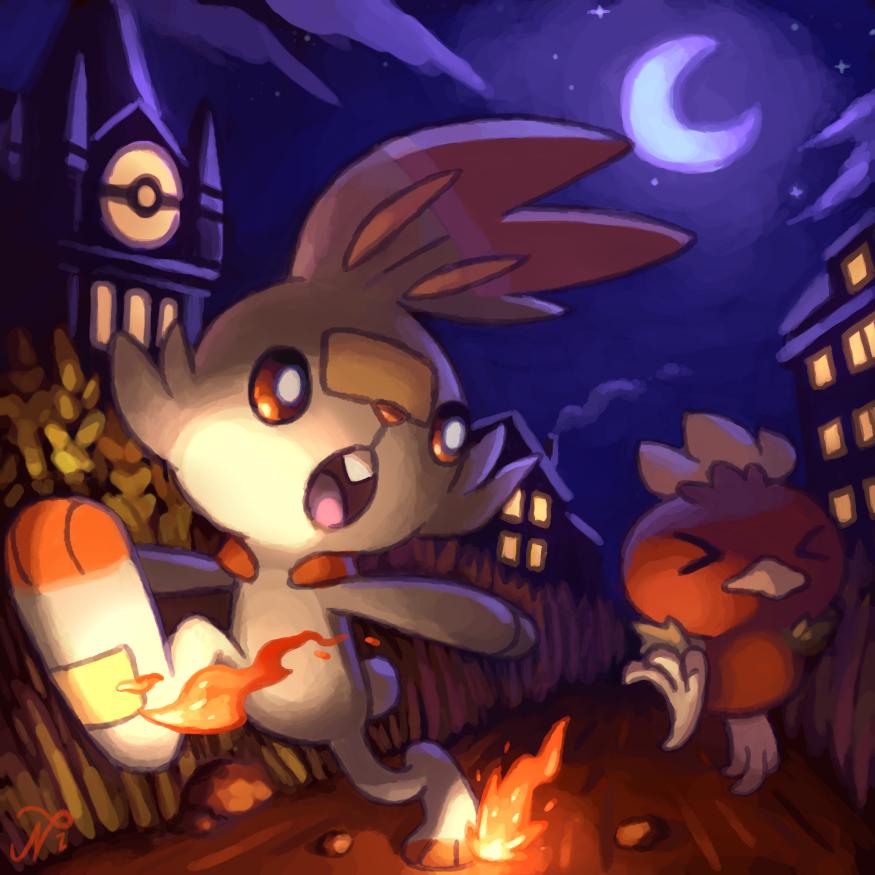 A Nighttime Race by Xous54