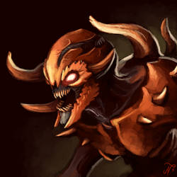 DOOM Eternal Imp by Xous54