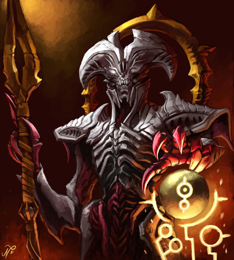 Doom Eternal The Maykrs By Xous54 On Deviantart