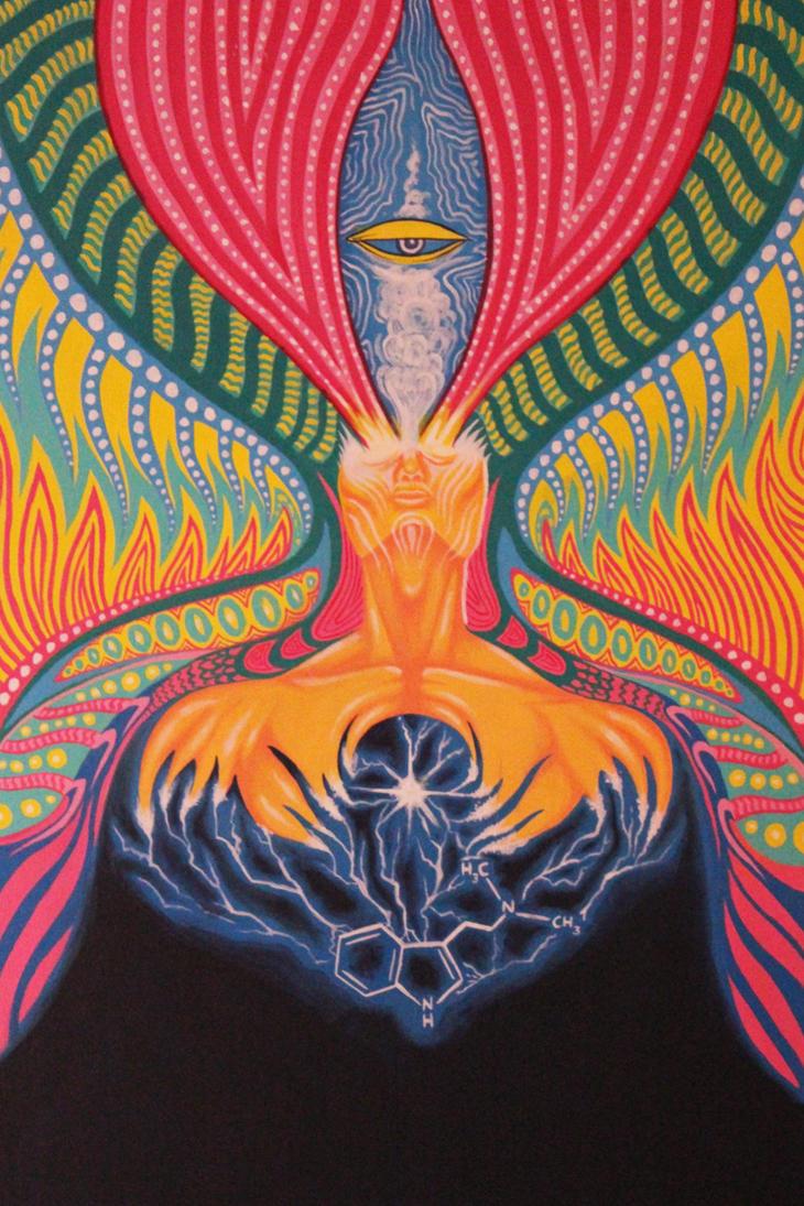 Ego Death Mural by PGT-diabolical