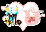 OC :: Blulexi and Romontea :: by Shatik