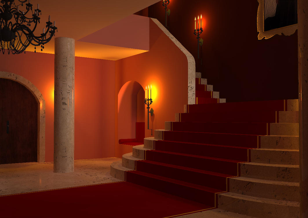 entrance hall by teufelchenonline