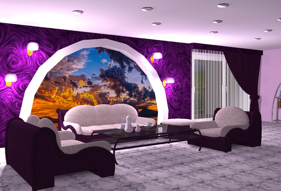 purple room by teufelchenonline