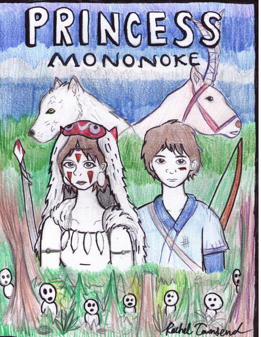 Princess Mononoke by SpideyzGirl