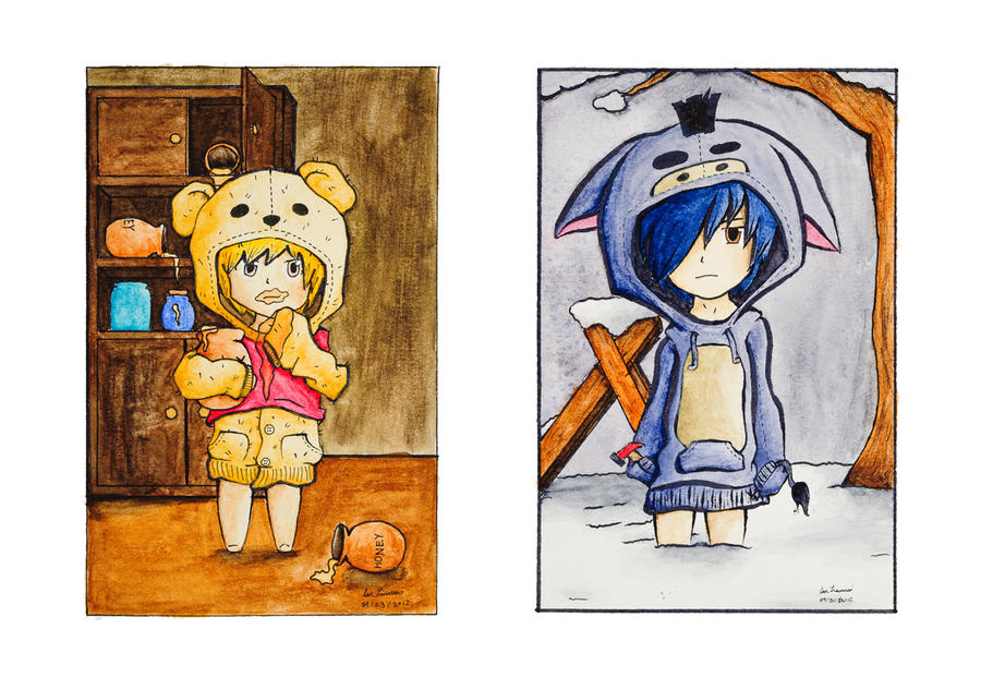 Winnie The Pooh Manga Adaption by IanLammiArt
