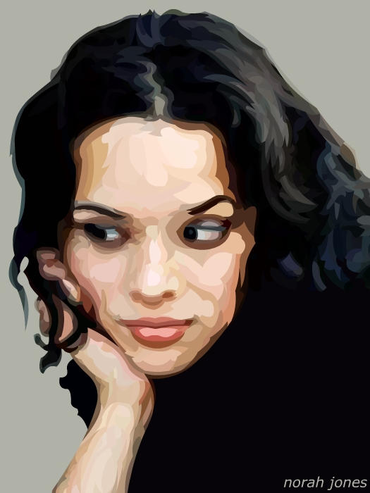 Norah Jones -unfinished- by mynameishachawacha