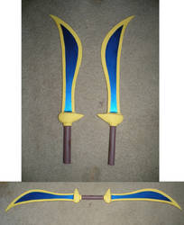 New Blades for Pit by makeshiftwings30