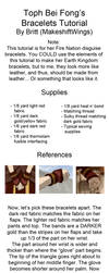 Toph Bracelet Tutorial by makeshiftwings30
