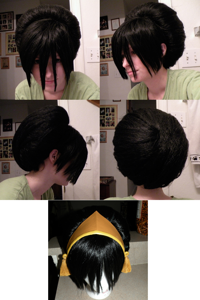 Toph Bei Fong Wig by makeshiftwings30