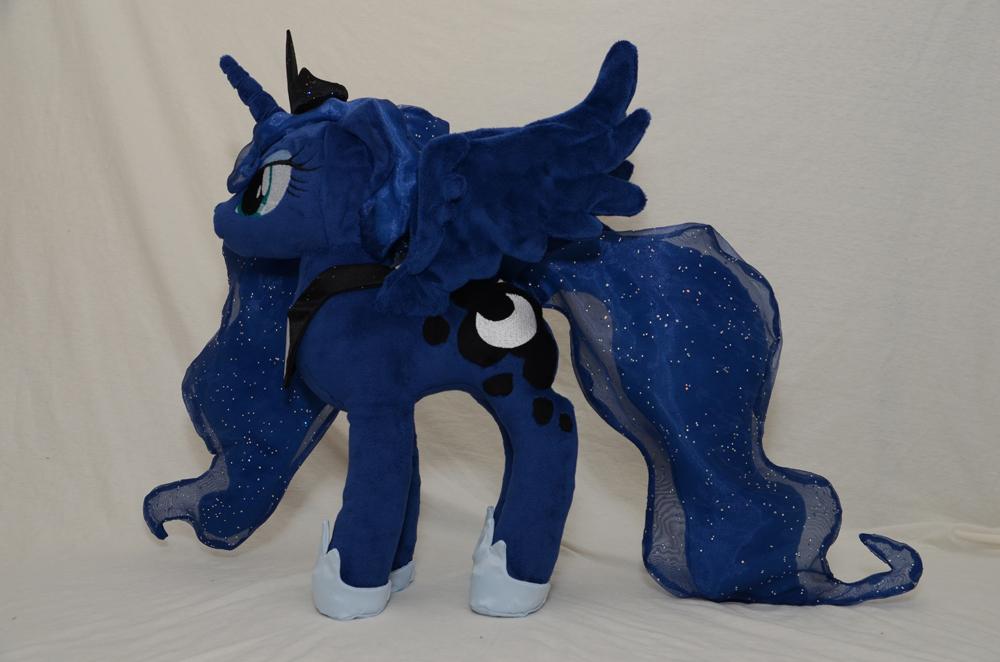 Season 2 Princess Luna Plushie by makeshiftwings30