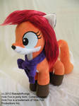 Vicki Fox Pony Plushie