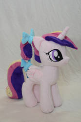 Foalsitter Princess Cadance Plushie by makeshiftwings30