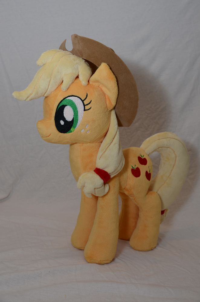 Applejack Plushie by makeshiftwings30