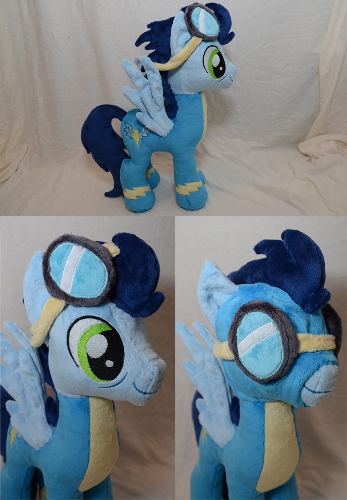 Soarin Plushie by makeshiftwings30