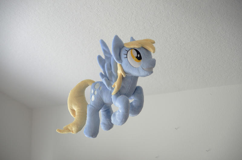Flying Derpy Plush by makeshiftwings30