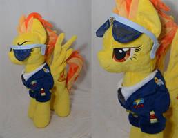 Captain Spitfire Plush
