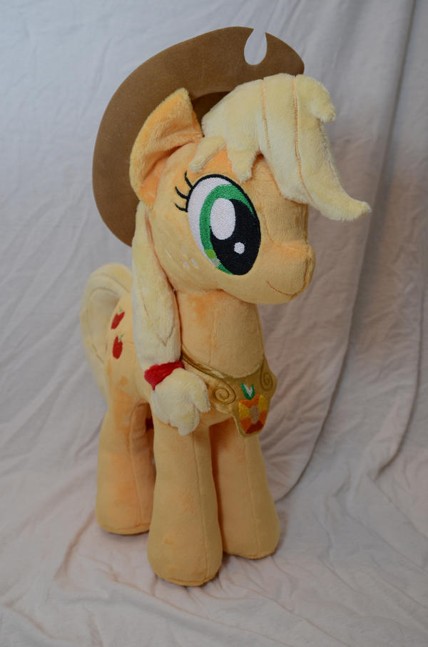Applejack with Element of Harmony Plush by makeshiftwings30