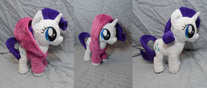 Filly Rarity with Hoodie by makeshiftwings30
