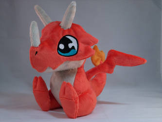 FiFi Dragon Plush by makeshiftwings30