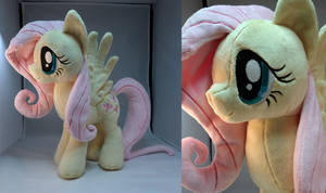 Fluttershy Plush by makeshiftwings30