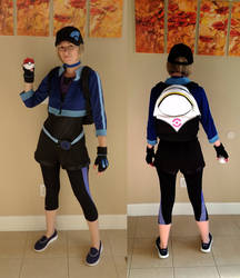 Pokemon Go Trainer Cosplay by makeshiftwings30