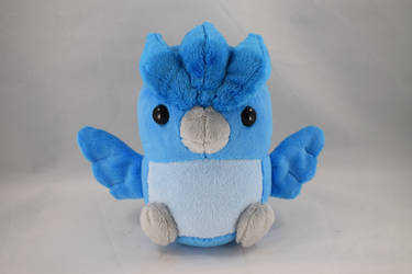 Baby Articuno Plushie by makeshiftwings30