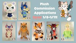 Plush Commissions Open