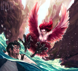 harpy by Leelean